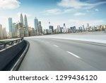 highway overpass motion blur... | Shutterstock . vector #1299436120
