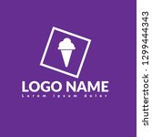 ice cream logo concept....