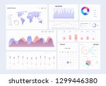 infographic dashboard...
