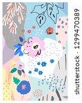 creative universal artistic... | Shutterstock .eps vector #1299470389