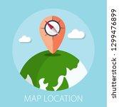 vector illustration of geo... | Shutterstock .eps vector #1299476899