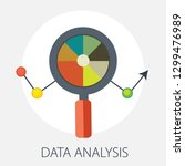 vector illustration of data... | Shutterstock .eps vector #1299476989