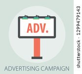 advertising and marketing... | Shutterstock .eps vector #1299479143