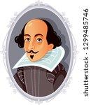 William Shakespeare Vector...