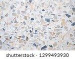 terrazzo polished stone floor... | Shutterstock . vector #1299493930