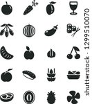 solid black vector icon set  ... | Shutterstock .eps vector #1299510070