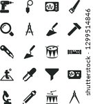 solid black vector icon set  ... | Shutterstock .eps vector #1299514846
