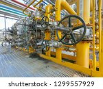 oil and gas refinery industrial ... | Shutterstock . vector #1299557929