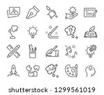 set of creative icons   such as ... | Shutterstock .eps vector #1299561019