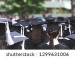 shot congratulation student... | Shutterstock . vector #1299631006