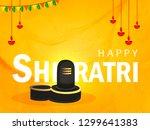 happy maha shivratri  vector... | Shutterstock .eps vector #1299641383