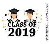 student degrees faceless... | Shutterstock .eps vector #1299678733