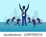 influencer marketing and... | Shutterstock .eps vector #1299709276