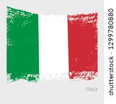 italy flag vector icon in... | Shutterstock .eps vector #1299780880