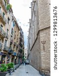 barcelona  spain   november 8 ... | Shutterstock . vector #1299813676