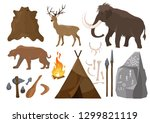vector illustration of big set... | Shutterstock .eps vector #1299821119