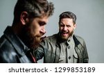 showdown concept. conflict and... | Shutterstock . vector #1299853189