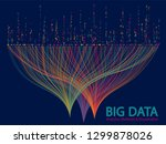 big data analytics methods and... | Shutterstock .eps vector #1299878026