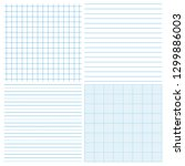 paper pattern collection.... | Shutterstock .eps vector #1299886003