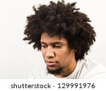 emotional facial expression of... | Shutterstock . vector #129991976
