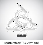abstract background circuit... | Shutterstock .eps vector #129994580