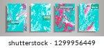 modern design a4.abstract... | Shutterstock .eps vector #1299956449