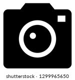 camera photo vector icon | Shutterstock .eps vector #1299965650