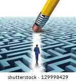 leadership solutions with a... | Shutterstock . vector #129998429