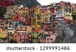 beautiful colorful cityscape on ...   Shutterstock . vector #1299991486
