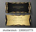 luxurious vip invitation... | Shutterstock .eps vector #1300010773
