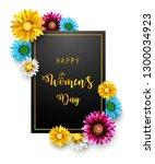 women's day  march 8. happy... | Shutterstock . vector #1300034923