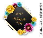 women's day  march 8. happy... | Shutterstock . vector #1300034929