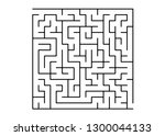 white vector background with a... | Shutterstock .eps vector #1300044133