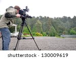 Cameraman And Sound Recordist...