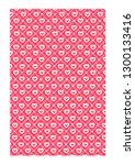 valentine background with...   Shutterstock .eps vector #1300133416