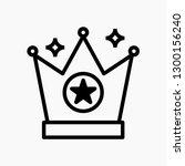 crown concept line icon. simple ...