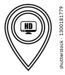 hd display icon and map pin....