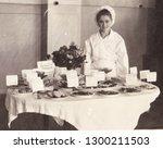 krivoy rog  ussr   circa 1950 ... | Shutterstock . vector #1300211503