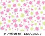 blots seamless pattern. dotted... | Shutterstock .eps vector #1300225333