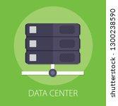 vector illustration of data... | Shutterstock .eps vector #1300238590