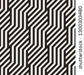 vector seamless geometric... | Shutterstock .eps vector #1300303480