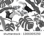 seamless pattern  background... | Shutterstock .eps vector #1300305250