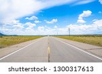 highway 64 in new mexico  usa | Shutterstock . vector #1300317613