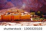 saint catherine's monastery at... | Shutterstock . vector #1300320103