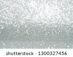 silver and white glitter... | Shutterstock . vector #1300327456