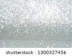 silver and white glitter... | Shutterstock . vector #1300327456
