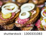 traditional dutch and swedish... | Shutterstock . vector #1300331083