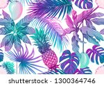 seamless pattern  background... | Shutterstock .eps vector #1300364746