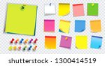 colorful sticky note. using in... | Shutterstock .eps vector #1300414519