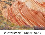 sandstone formations in utah ... | Shutterstock . vector #1300425649